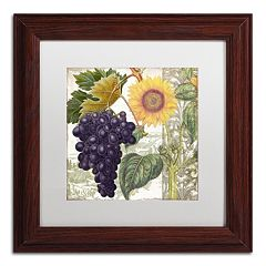 Trademark Fine Art Dolcetto I Framed Wall Art