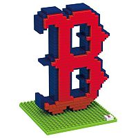 Forever Collectibles Boston Red Sox BRXLZ 3D Logo Puzzle Set