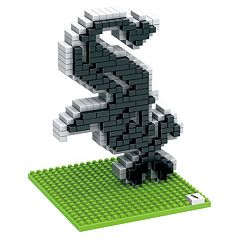 Forever Collectibles Chicago White Sox BRXLZ 3D Logo Puzzle Set