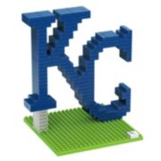 Forever Collectibles Kansas City Royals BRXLZ 3D Logo Puzzle Set