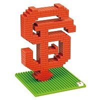 Forever Collectibles San Francisco Giants BRXLZ 3D Logo Puzzle Set