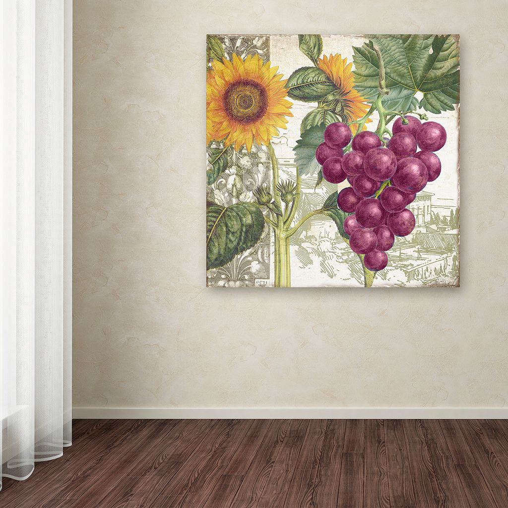 Trademark Fine Art Dolcetto II Canvas Wall Art
