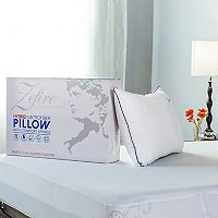 Protect-A-Bed Hybrid Memory Foam Comfort Spring Soft Pillow