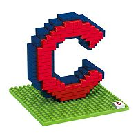 Forever Collectibles Chicago Cubs BRXLZ 3D Logo Puzzle Set