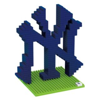 Forever Collectibles New York Yankees BRXLZ 3D Logo Puzzle Set