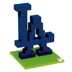 Forever Collectibles Los Angeles Dodgers BRXLZ 3D Logo Puzzle Set