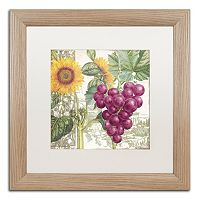 Trademark Fine Art Dolcetto II Washed Finish Framed Wall Art