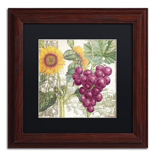 Trademark Fine Art Dolcetto II Framed Wall Art