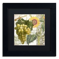 Trademark Fine Art Dolcetto III Black Framed Wall Art