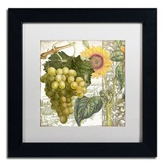 Trademark Fine Art Dolcetto III Black Framed Wall Art