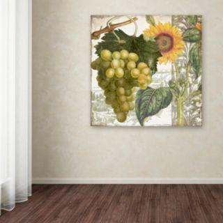 Trademark Fine Art Dolcetto III Canvas Wall Art