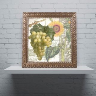 Trademark Fine Art Dolcetto III Ornate Framed Wall Art