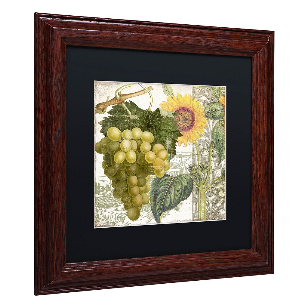 Trademark Fine Art Dolcetto III Matted Framed Wall Art
