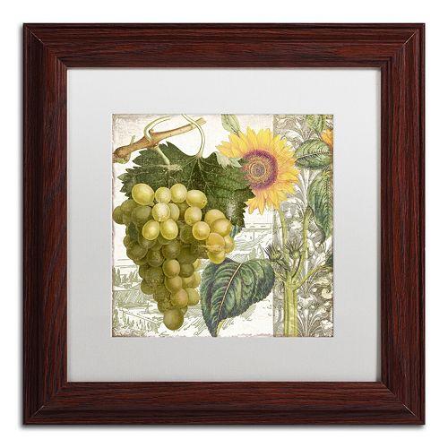Trademark Fine Art Dolcetto III Matted Framed Wall Art