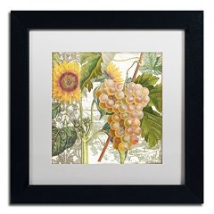 Trademark Fine Art Dolcetto IV Black Matted Framed Wall Art