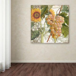 Trademark Fine Art Dolcetto IV Canvas Wall Art