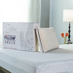 Protect-A-Bed Hybrid Memory Foam Comfort Spring Firm Pillow