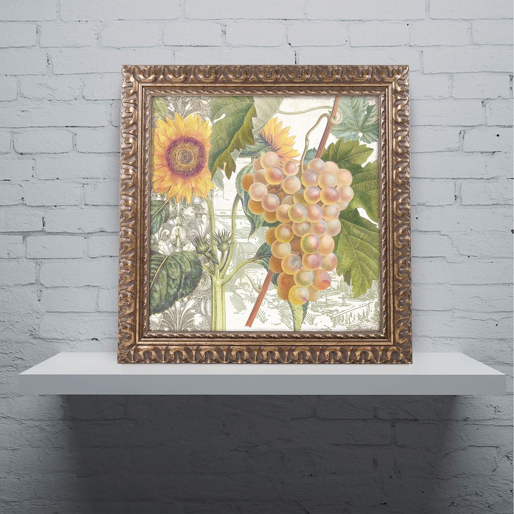 Trademark Fine Art Dolcetto IV Ornate Framed Wall Art