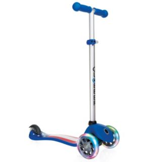 Globber Primo Fantasy 3-Wheeled Adjustable Height Scooter with LED Light-Up Wheels