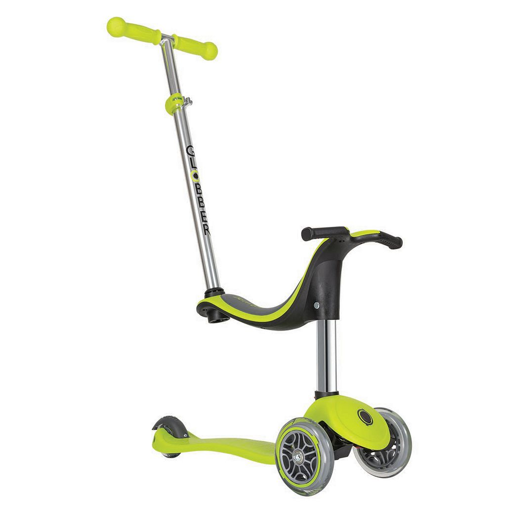 Globber Evo 3-Wheeled 4-in-1 Convertible Scooter