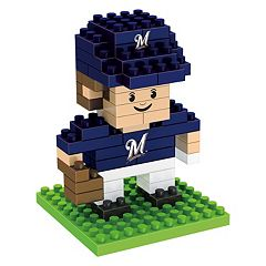 Forever Collectibles Milwaukee Brewers BRXLZ 3D Mini Player Puzzle Set