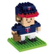 Forever Collectibles Minnesota Twins BRXLZ 3D Mini Player Puzzle Set