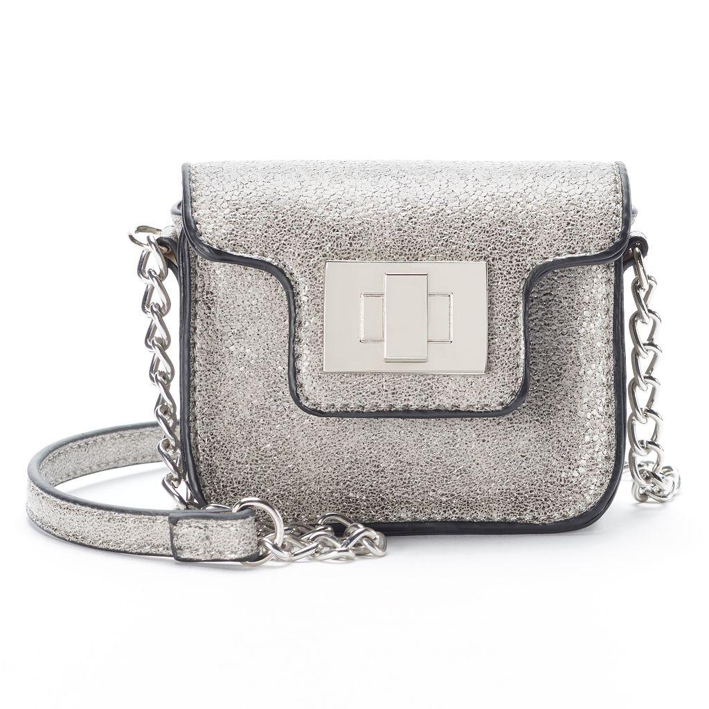 SO® Glittery Mini Crossbody Bag