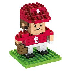 Forever Collectibles St. Louis Cardinals BRXLZ 3D Mini Player Puzzle Set