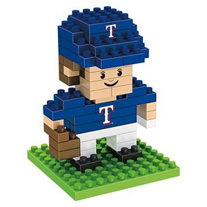 Forever Collectibles Texas Rangers BRXLZ 3D Mini Player Puzzle Set