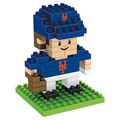 Forever Collectibles New York Mets BRXLZ 3D Mini Player Puzzle Set