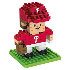 Forever Collectibles Philadelphia Phillies BRXLZ 3D Mini Player Puzzle Set