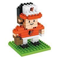 Forever Collectibles Baltimore Orioles BRXLZ 3D Mini Player Puzzle Set