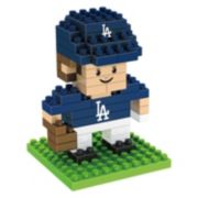 Forever Collectibles Los Angeles Dodgers BRXLZ 3D Mini Player Puzzle Set