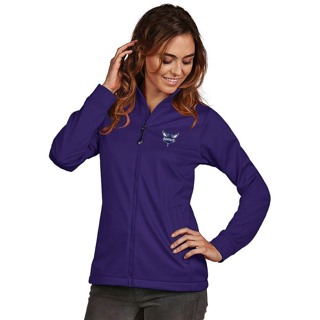 Women's Antigua Charlotte Hornets Golf Jacket