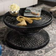 Safavieh Grimson Rattan Coffee Table