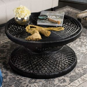 Safavieh Grimson Rattan Coffee Table