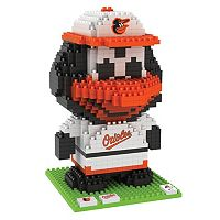 Forever Collectibles Baltimore Orioles BRXLZ 3D Mascot Puzzle Set