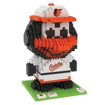 Forever Collectibles Baltimore Orioles BRXLZ 3D Mascot Puzzle Set