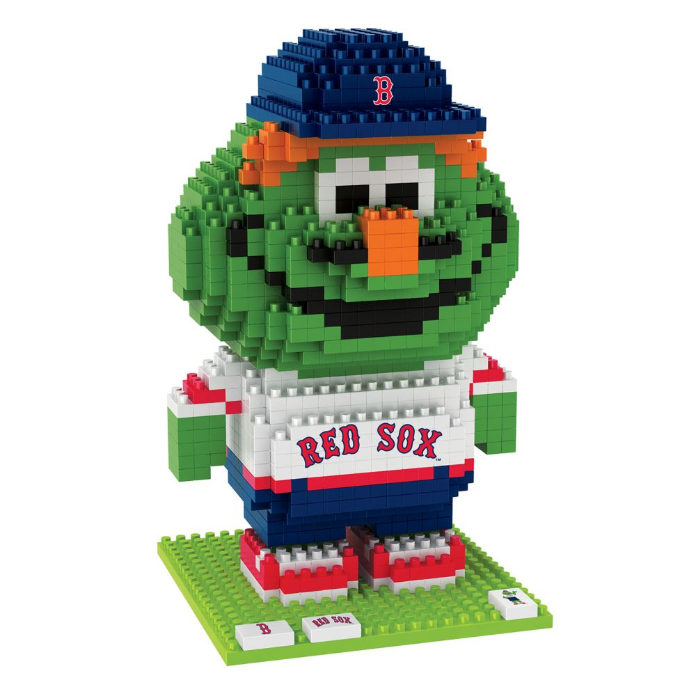 collectibles boston red sox brxlz 3d mascot puzzle set