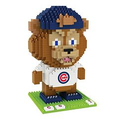 Forever Collectibles Chicago Cubs BRXLZ 3D Mascot Puzzle Set