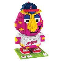 Forever Collectibles Cleveland Indians BRXLZ 3D Mascot Puzzle Set