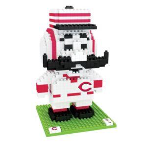 Forever Collectibles Cincinnati Reds BRXLZ 3D Mascot Puzzle Set