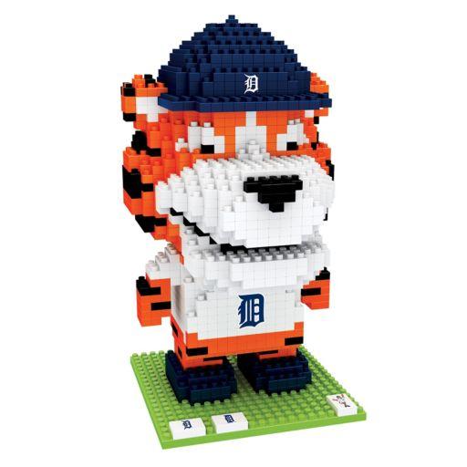 Forever Collectibles Detroit Tigers BRXLZ 3D Mascot Puzzle Set