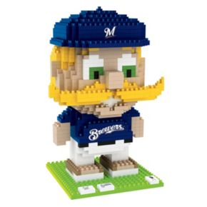 Forever Collectibles Milwaukee Brewers BRXLZ 3D Mascot Puzzle Set