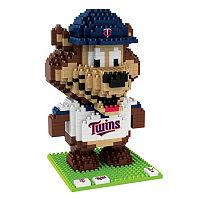 Forever Collectibles Minnesota Twins BRXLZ 3D Mascot Puzzle Set