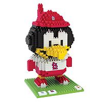 Forever Collectibles St. Louis Cardinals BRXLZ 3D Mascot Puzzle Set