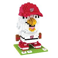 Forever Collectibles Washington Nationals BRXLZ 3D Mascot Puzzle Set