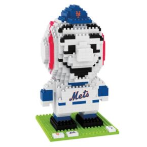 Forever Collectibles New York Mets BRXLZ 3D Mascot Puzzle Set