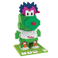 Forever Collectibles Philadelphia Phillies BRXLZ 3D Mascot Puzzle Set