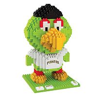 Forever Collectibles Pittsburgh Pirates BRXLZ 3D Mascot Puzzle Set